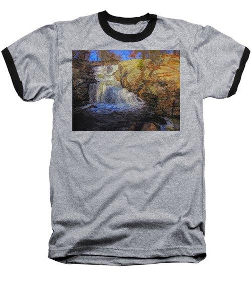 A Beautiful Connecticut Waterfall. Baseball T-Shirt