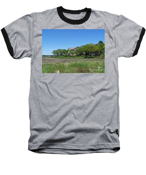 Baseball T-Shirt featuring the photograph A Beautiful Day by Carol  Bradley