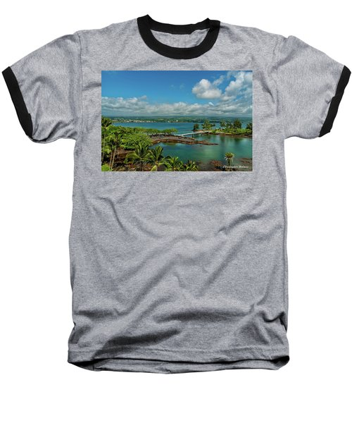 A Beautiful Day Over Hilo Bay Baseball T-Shirt