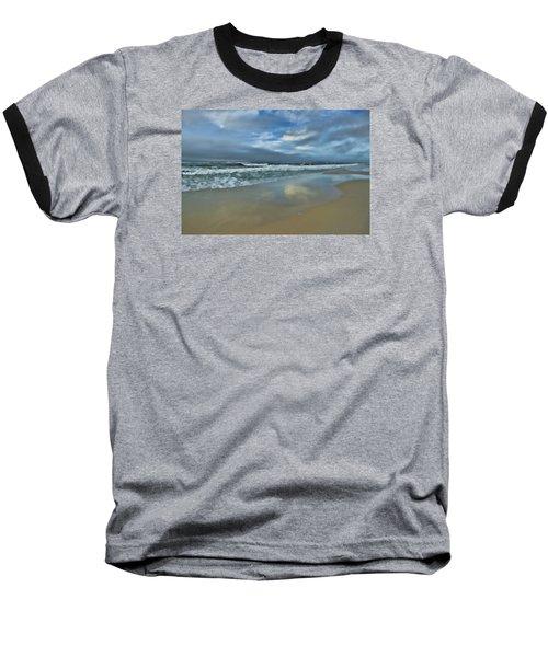 A Beautiful Day Baseball T-Shirt by Renee Hardison