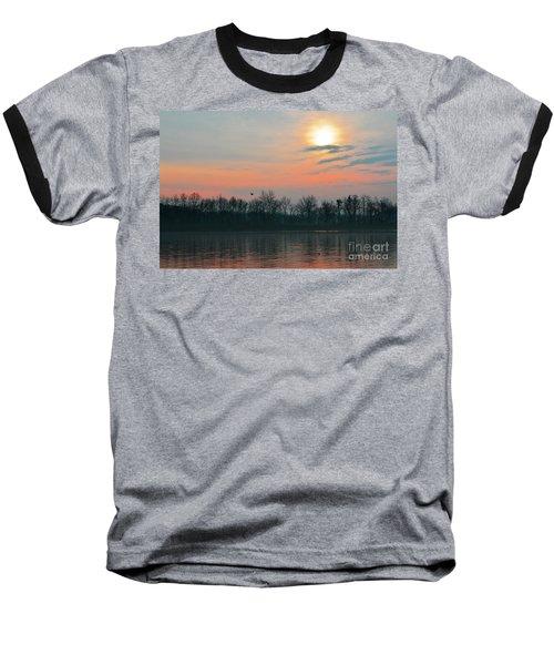 A Beautiful Morning At The Delaware River Baseball T-Shirt