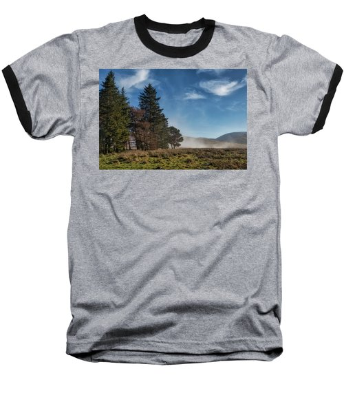 Baseball T-Shirt featuring the photograph A Beautiful Scottish Morning by Jeremy Lavender Photography