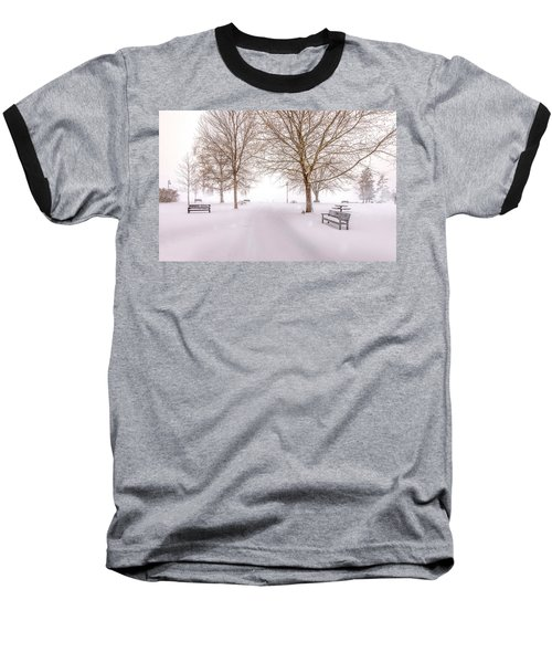 Baseball T-Shirt featuring the photograph A Beautiful Winter's Morning  by John Poon