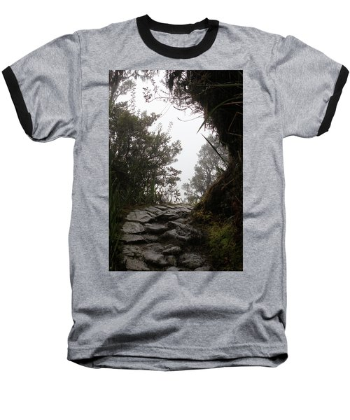 A Bend In The Path Baseball T-Shirt
