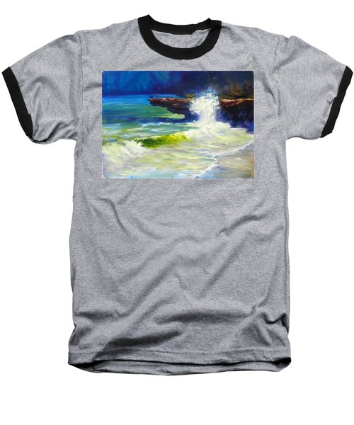 A Big Wave Baseball T-Shirt