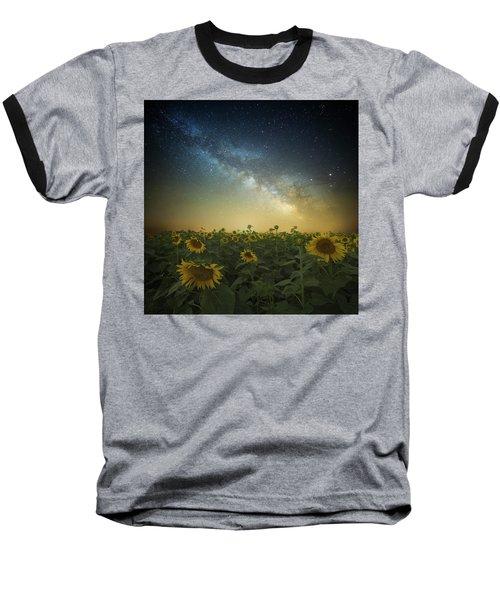 A Billion Suns Baseball T-Shirt by Aaron J Groen