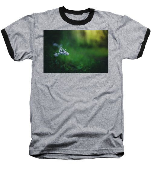 Baseball T-Shirt featuring the photograph A Bit Of Forest Magic by Shane Holsclaw