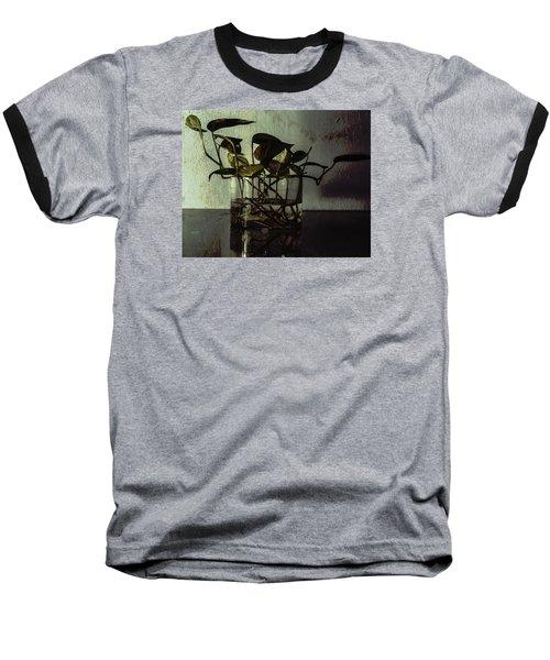 A Bit Of Grunge Baseball T-Shirt by Rajiv Chopra