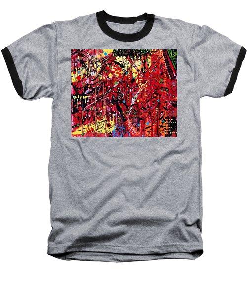 Is A Black Cloud Coming This Way Baseball T-Shirt
