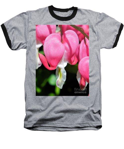 A Bleeding Heart Baseball T-Shirt