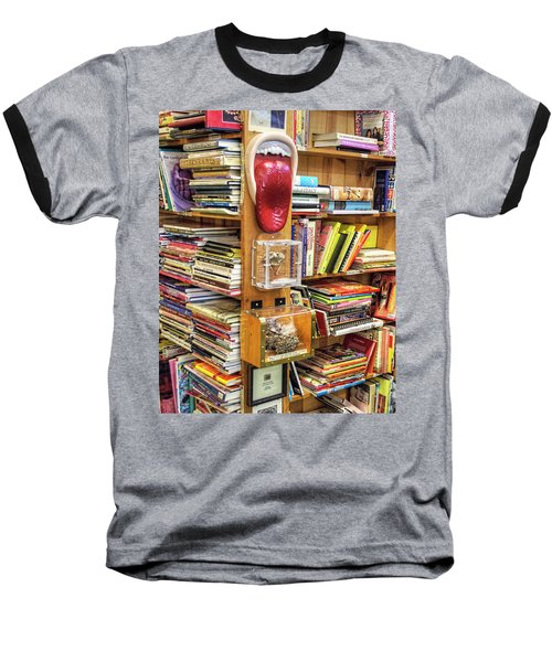 A Bookstore For All Tastes Baseball T-Shirt by Greg Sigrist