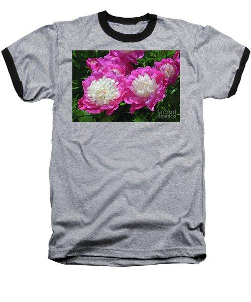 A Bouquet Of Peonies Baseball T-Shirt by Eva Kaufman