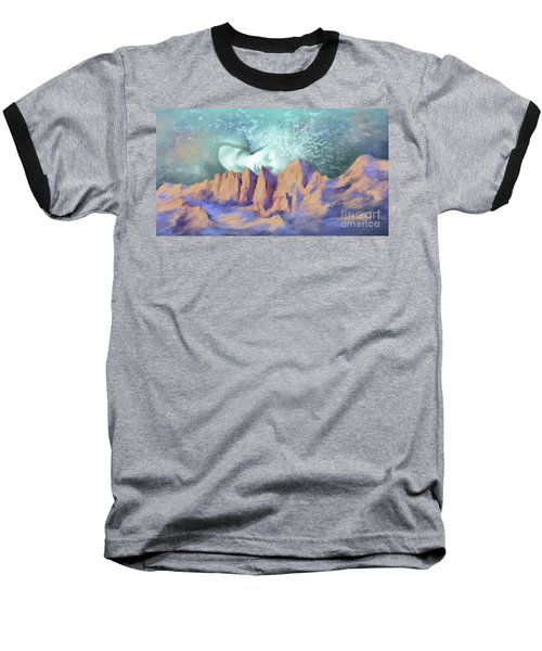 A Breath Of Tranquility Baseball T-Shirt