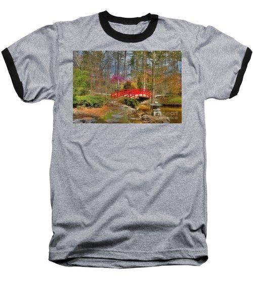 A Bridge To Spring Baseball T-Shirt by Benanne Stiens