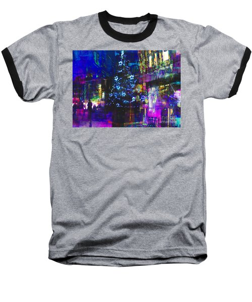 Baseball T-Shirt featuring the photograph A Bright And Colourful Christmas by LemonArt Photography