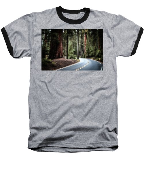 A Bright Future Around The Bend Baseball T-Shirt