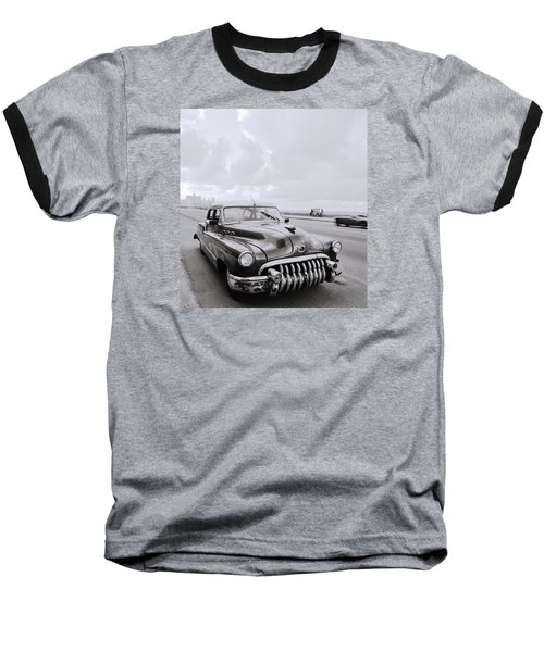A Buick Car Baseball T-Shirt by Shaun Higson