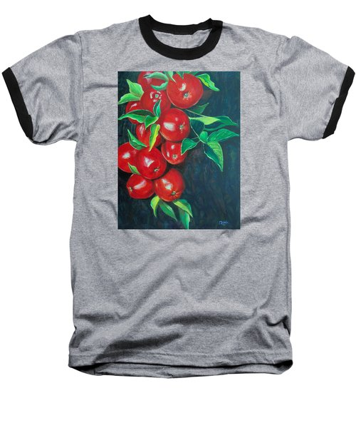 A Bumper Crop Baseball T-Shirt by Susan DeLain