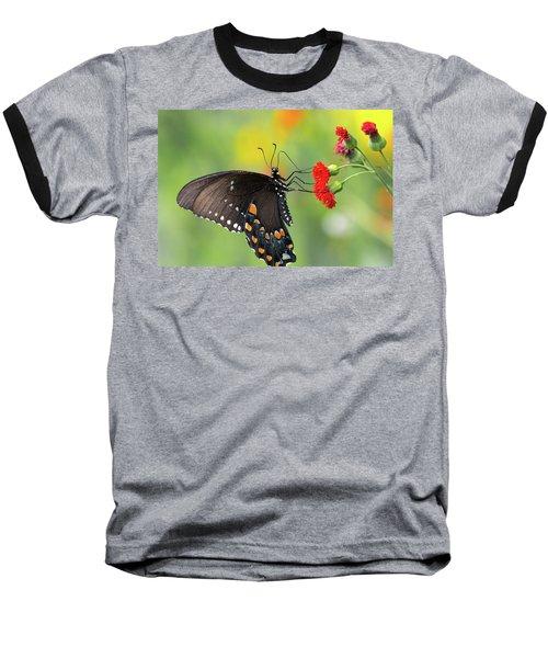 A Butterfly  Baseball T-Shirt