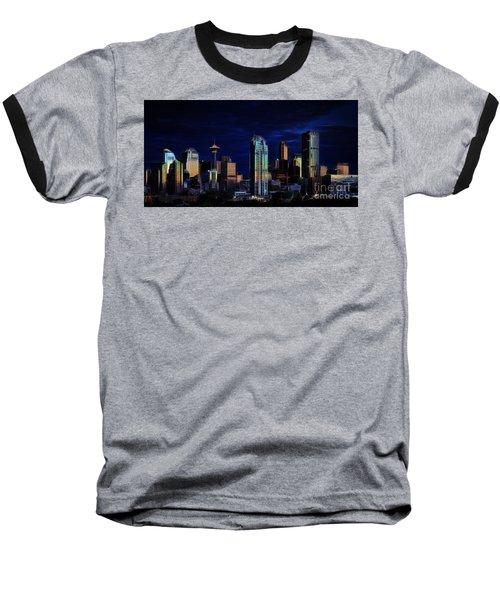 A Calgary Sunrise Baseball T-Shirt