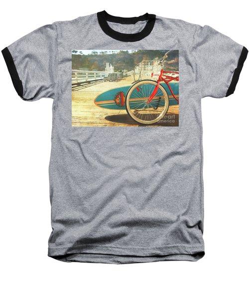 A California Postcard Baseball T-Shirt