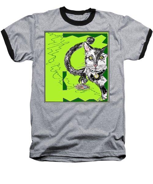 A Cat Baseball T-Shirt