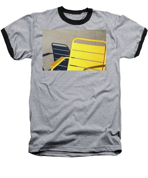 A Chair And Its Shadow Baseball T-Shirt