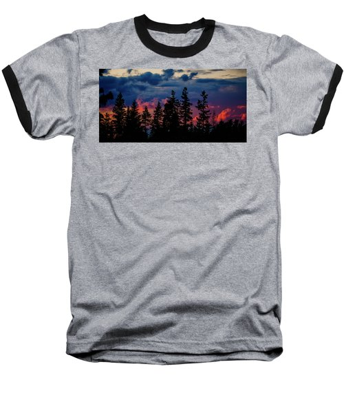 Baseball T-Shirt featuring the photograph A Chance Of Thundershowers by Albert Seger