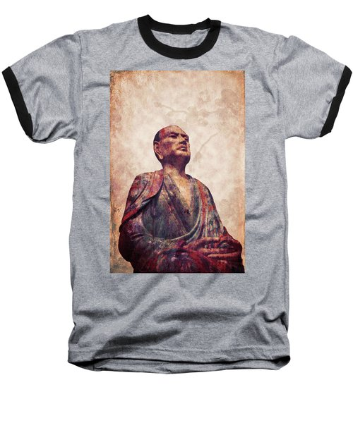 Buddha 5 Baseball T-Shirt by Lynn Sprowl