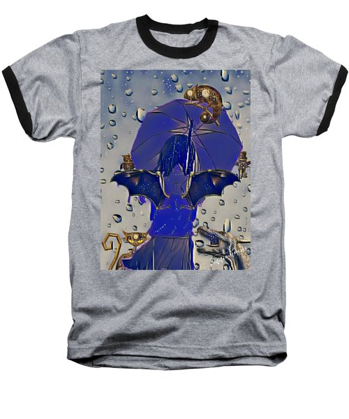 A Child's Invisibles Baseball T-Shirt