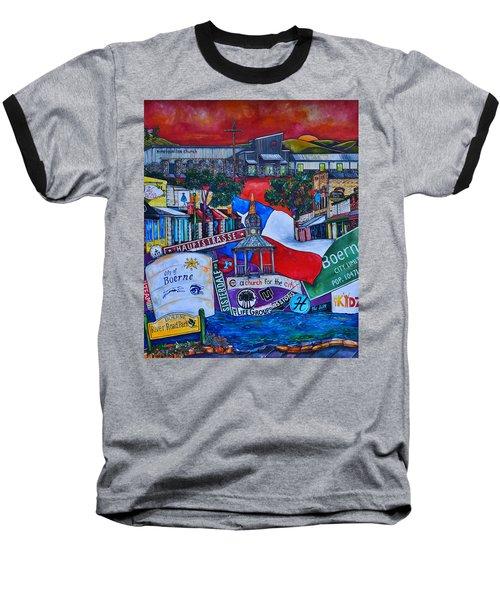 A Church For The City Baseball T-Shirt by Patti Schermerhorn