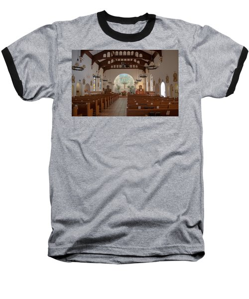 Baseball T-Shirt featuring the photograph A Church Is Really Never Empty by Monte Stevens