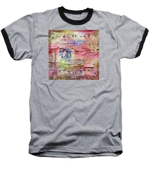 A City Besieged Baseball T-Shirt by Paula Ayers