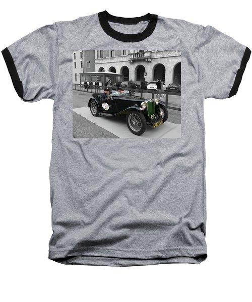A Classic Vintage British Mg Car Baseball T-Shirt