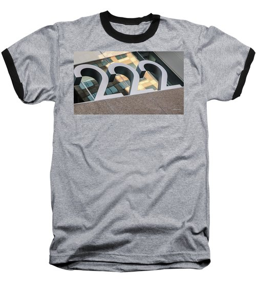 A Close Second - Architectural  Baseball T-Shirt