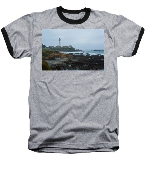 A Cloudy Day At Pigeon Point Baseball T-Shirt