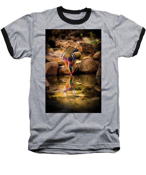 A Cold Drink - Mandarin Drake Baseball T-Shirt