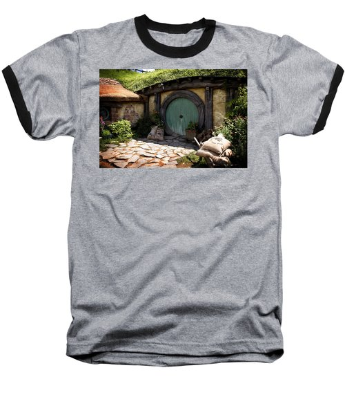 A Colorful Hobbit Home Baseball T-Shirt