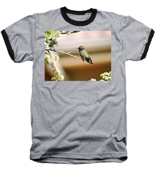 A Contented Hummer Baseball T-Shirt