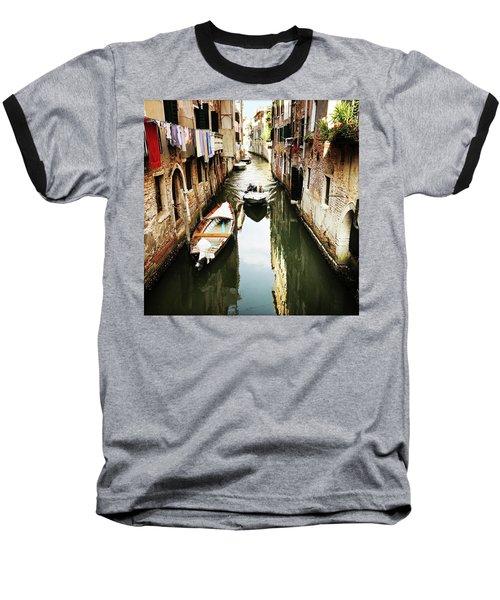 A Corner In Venice Baseball T-Shirt
