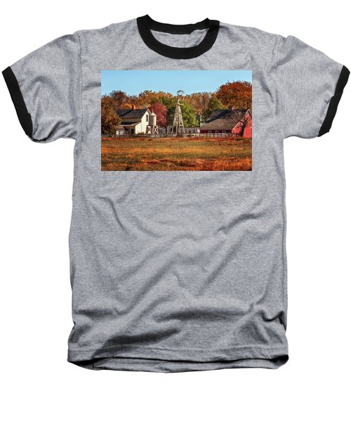 A Country Autumn Baseball T-Shirt
