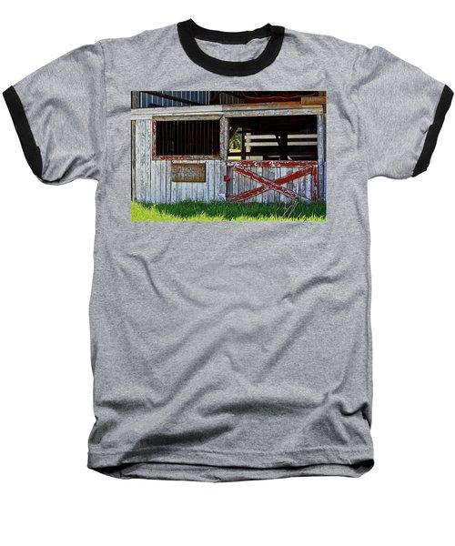 A Country Scene Baseball T-Shirt