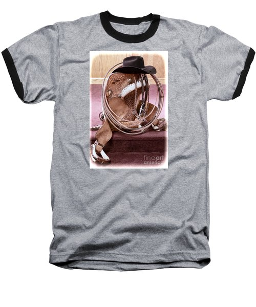 A Cowboy's Gear Baseball T-Shirt