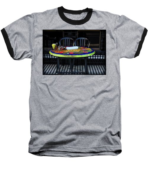 A Cozy Table For Two Baseball T-Shirt