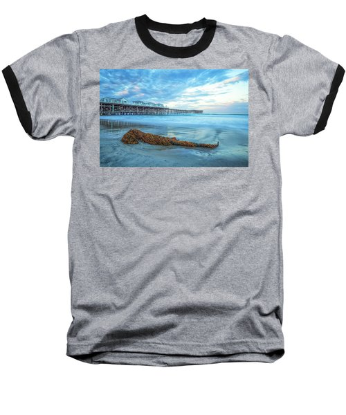 A Crystal Morning Baseball T-Shirt by Joseph S Giacalone