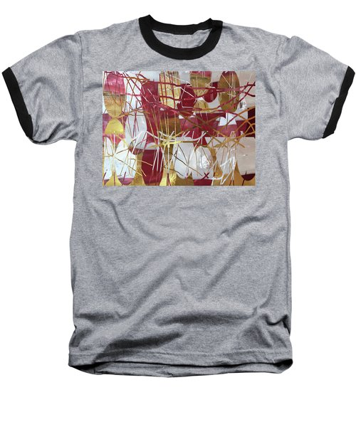 A Dance Of Rubies And Old Gold Baseball T-Shirt
