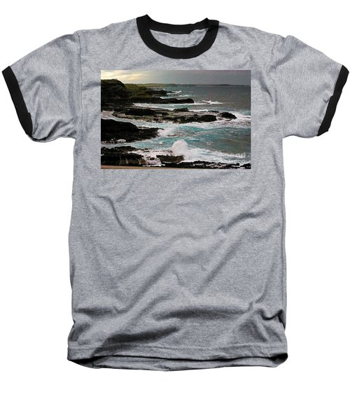 A Dangerous Coastline Baseball T-Shirt
