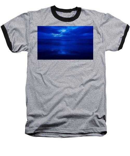 A Dark, Inky Sea Baseball T-Shirt
