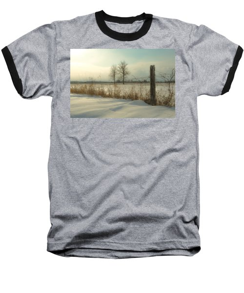 A Dawn Of New Snow Baseball T-Shirt