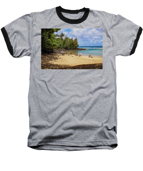 A Day At Ke'e Beach Baseball T-Shirt